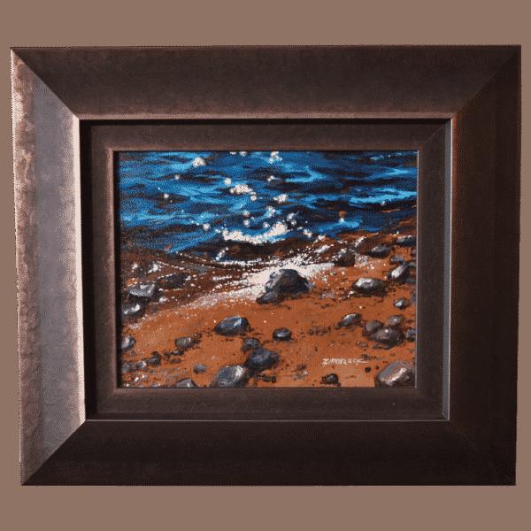 Beach Stars 10x8 Painting by Tammy Zebruck