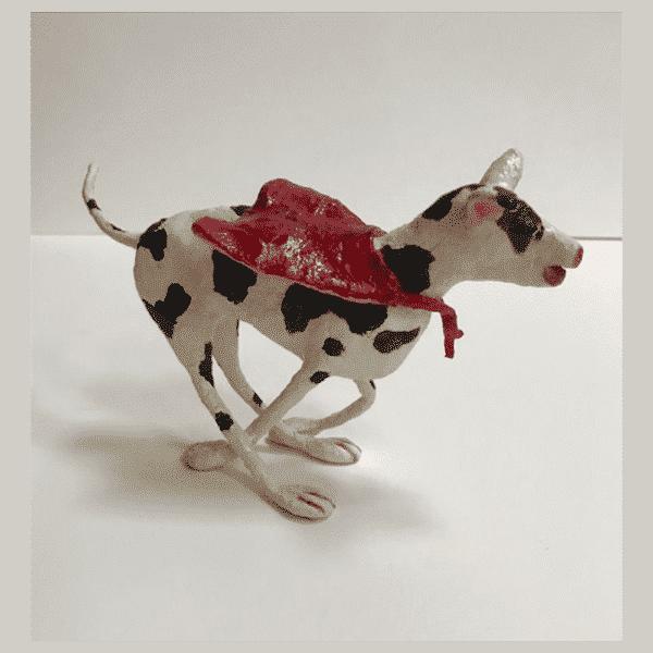 Chase Me Sculpture by Cheryl Tordon