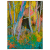 Contrasts 6x8 Painting by Pippi Johnson