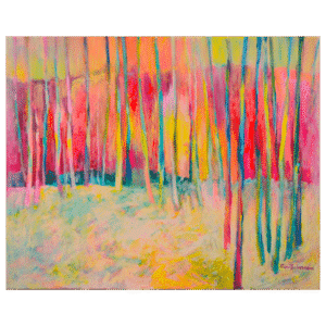 Fall Into Winter 30x24 Painting by Pippi Johnson