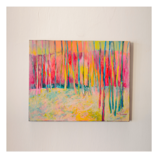 Pippi Johnson W 30' x H 24' Oil on Canvas