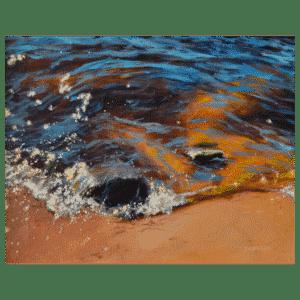 Glittering September 14 x 11 Painting by Tammy Zebruck