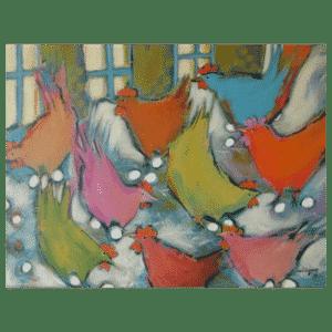 Good Morning 16 x 12 Painting