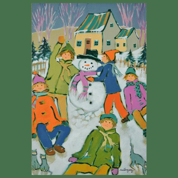 Les Joies de Lenfance 12x16 Painting