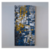 Martine Tremblay W 18' x H 36' Acrylic on Canvas + Framing
