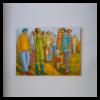 Martine Tremblay W 40' x H 30' Acrylic on Canvas + Framing