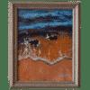 Shoreline Sparkling 8 x 10 Painting by Tammy Zebruck