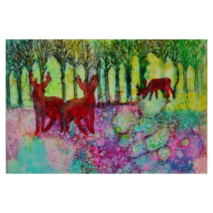 Springtime 24x18 Painting by Pippi Johnson