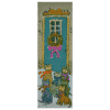 The Charming Visitors 8 x 24 Painting