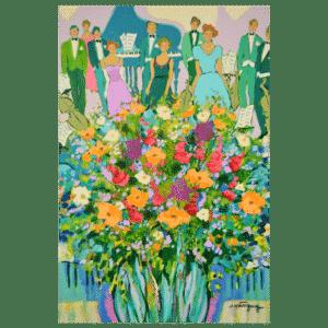 Tout Pour la musique 16 x12 Painting
