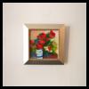 Pippi Johnson W 6' x H 6' Acrylic on Panel Framed