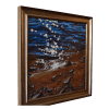 Beach Stars Painting Framed by Tammy Zebruck
