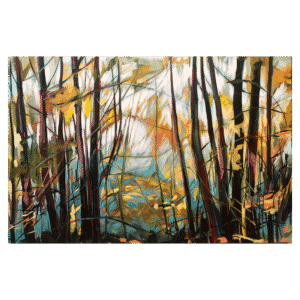 Autumnal Forest II 60x40 Painting by Shane Norrie