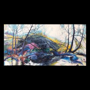 Shane Norrie W 60' x H 30' Acrylic on Canvas Framed