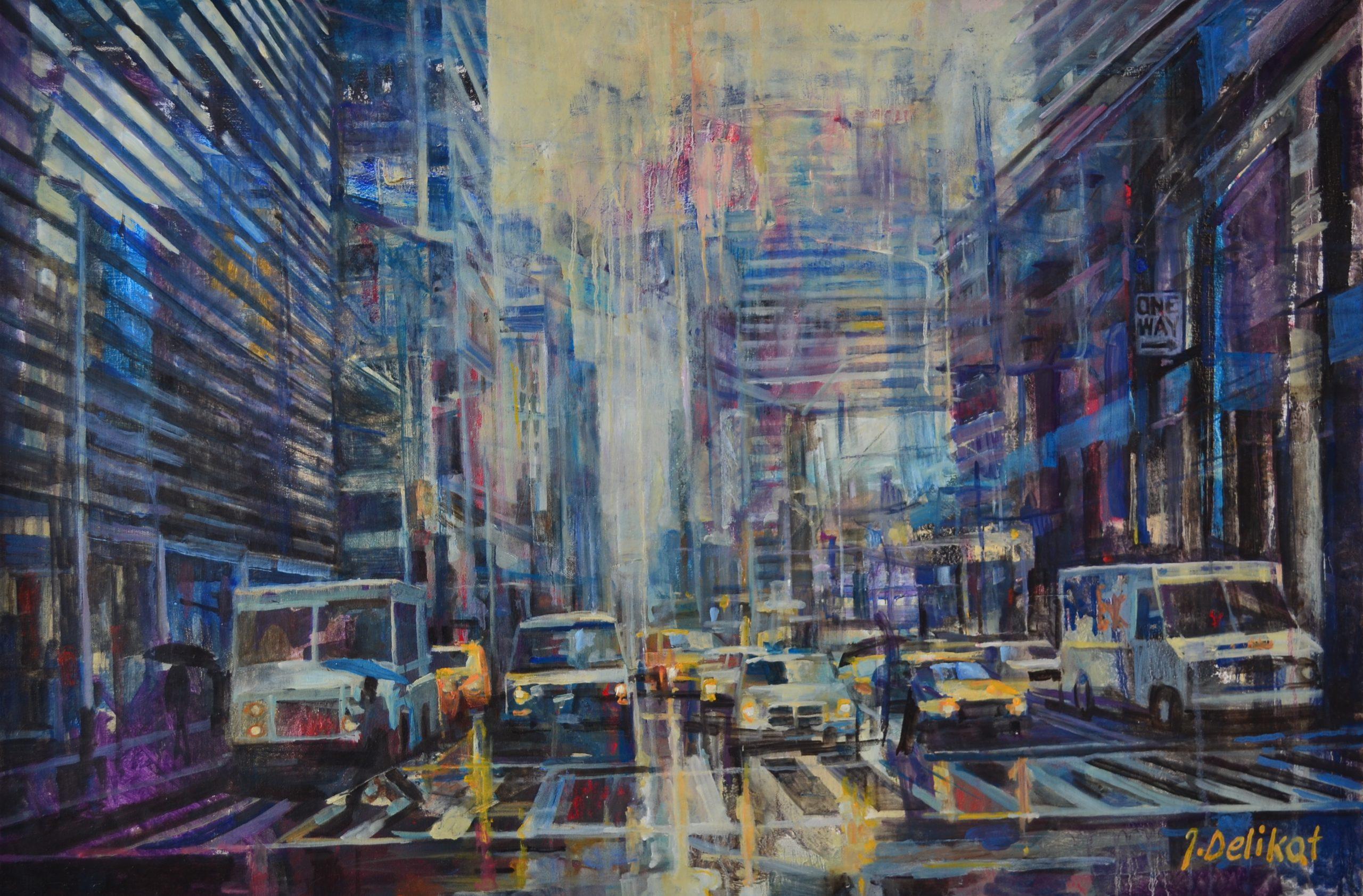 NYC 20 x 24 by Jan Delikat