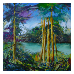Favourite Place 60 x 60 Acrylic on Panel $5250 + Framing (Landscape)