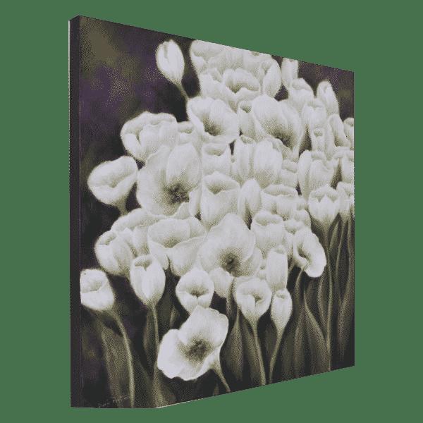 Floral 24 x 24