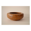 Orange Bowl 9 x 3 ½ Pyrophyllite $400 (Sculpture)