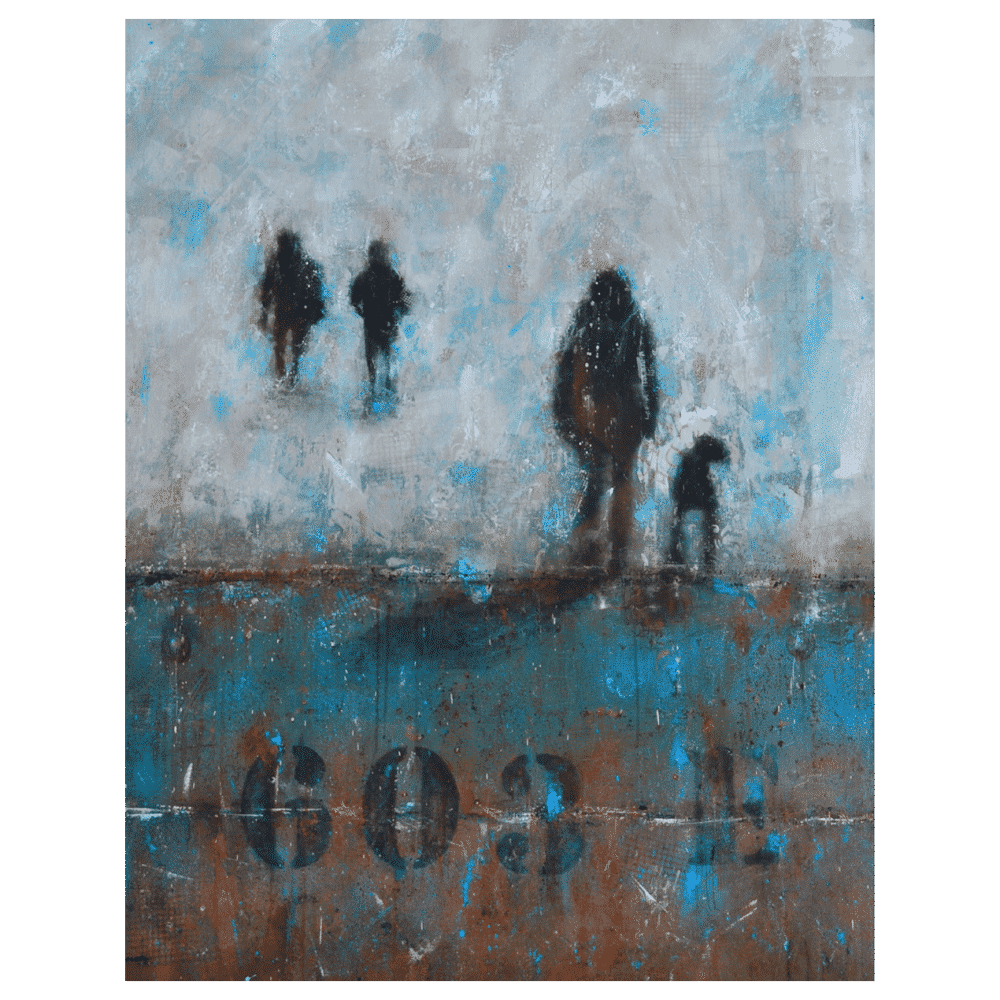 Passager de Novembre 48x60 by Lina Vandal