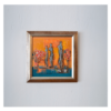 Lise Tremblay W 12' x H 12' Mixed Media on Canvas - Framed
