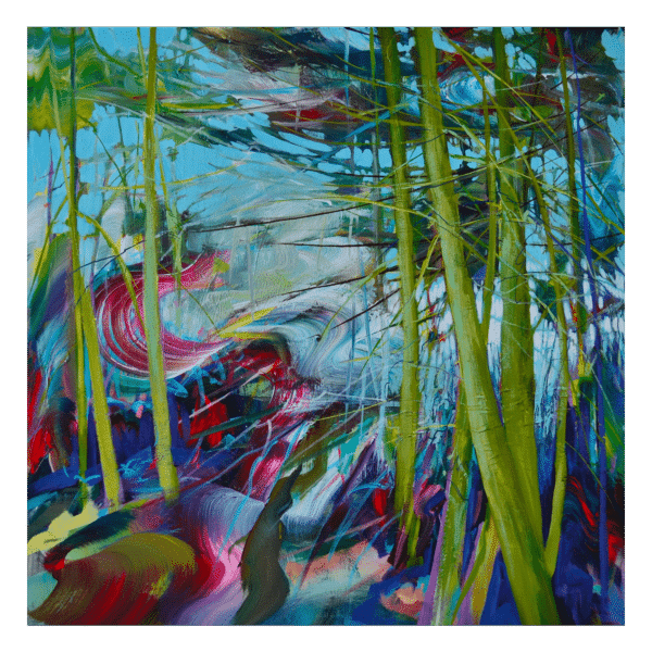 Shane Norrie W 36' x H 36' Acrylic on Panel + Framing