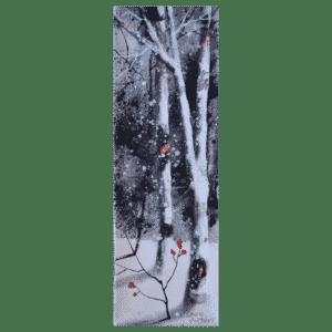 Tall Trees I 4x12 by Doris Pontieri