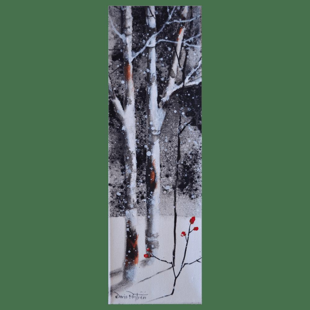 Tall Trees II 4x12 by Doris Pontieri