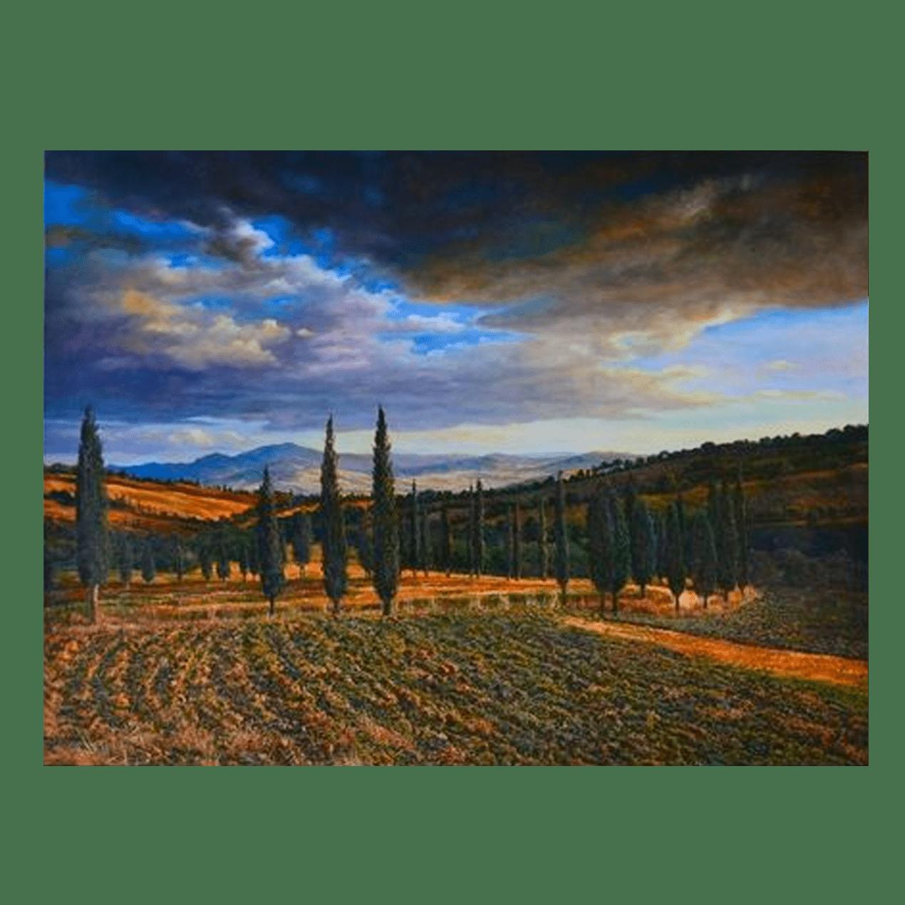 Terry Hsu Tuscany 40 x 30 $2250 (Landscape)