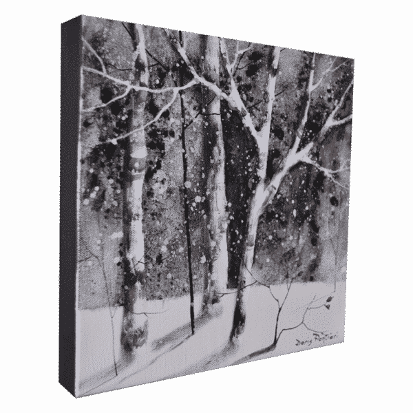 Winter Birch II 10 x 10