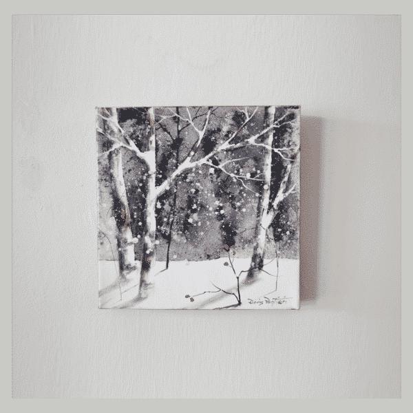 Winter Birch III 10 x 10