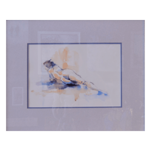 Ron Vilim W 21' x H 18' Watercolour on Paper Framed