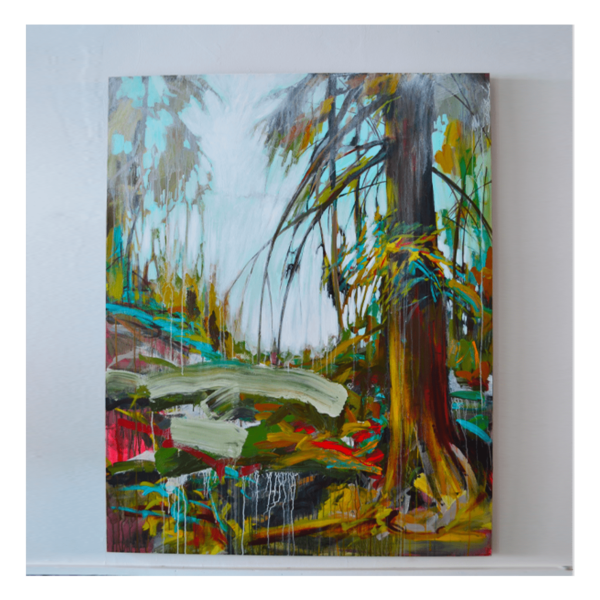 Shane Norrie W 48' x H 60' Acrylic on Canvas + Framing