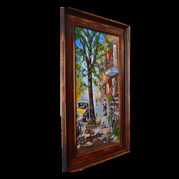Robert Roy W 10' x H 20' Oil on Canvas
