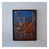 Semaphores 36 x 48 Acrylic on Canvas $3790 Framed. (Landscape)