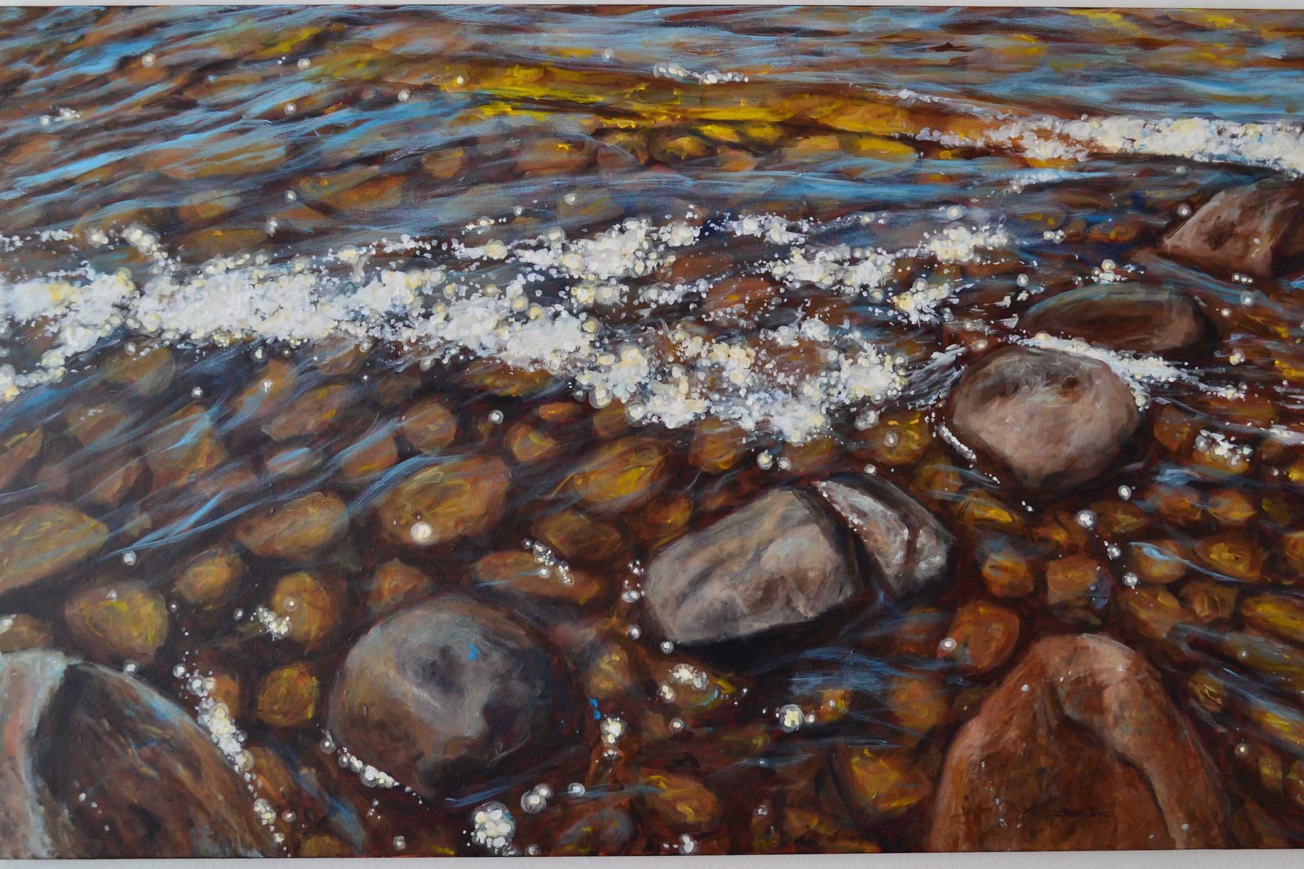Shoreline Cosmos<br>48×30