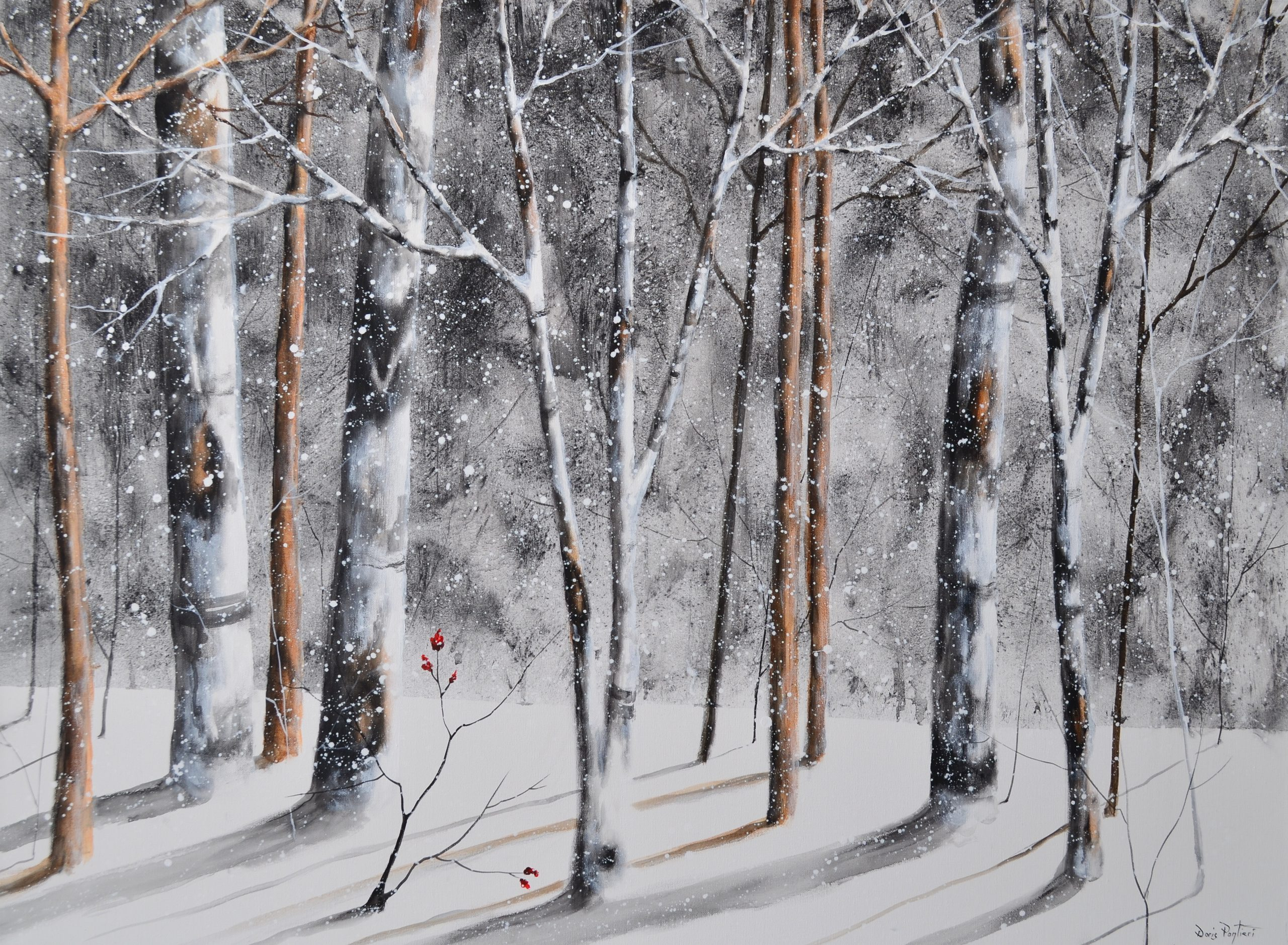Winter in the North<br> 48×36