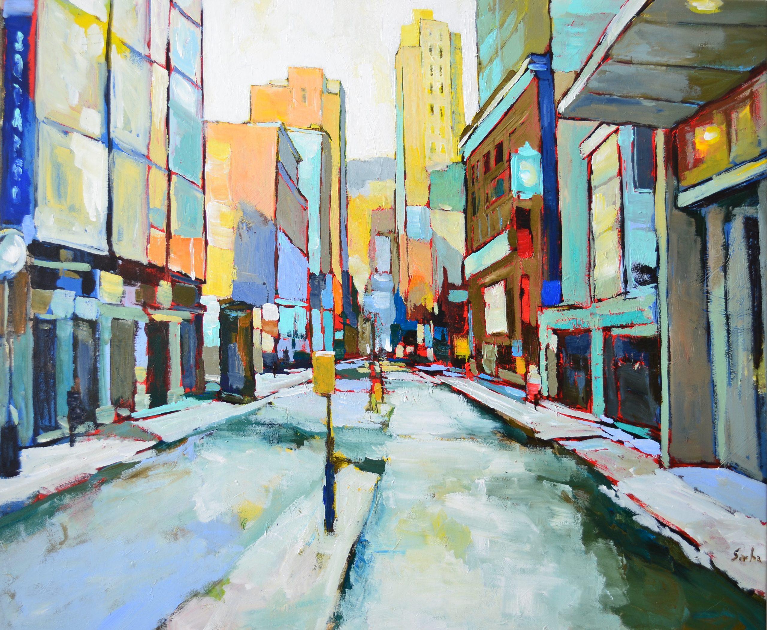 Urbane Pastel<br>48×40