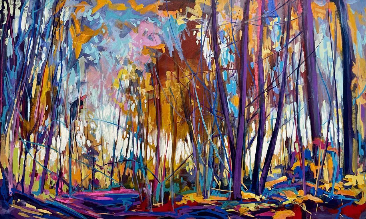 Autumn Colours<br> 48×30<br>SOLD