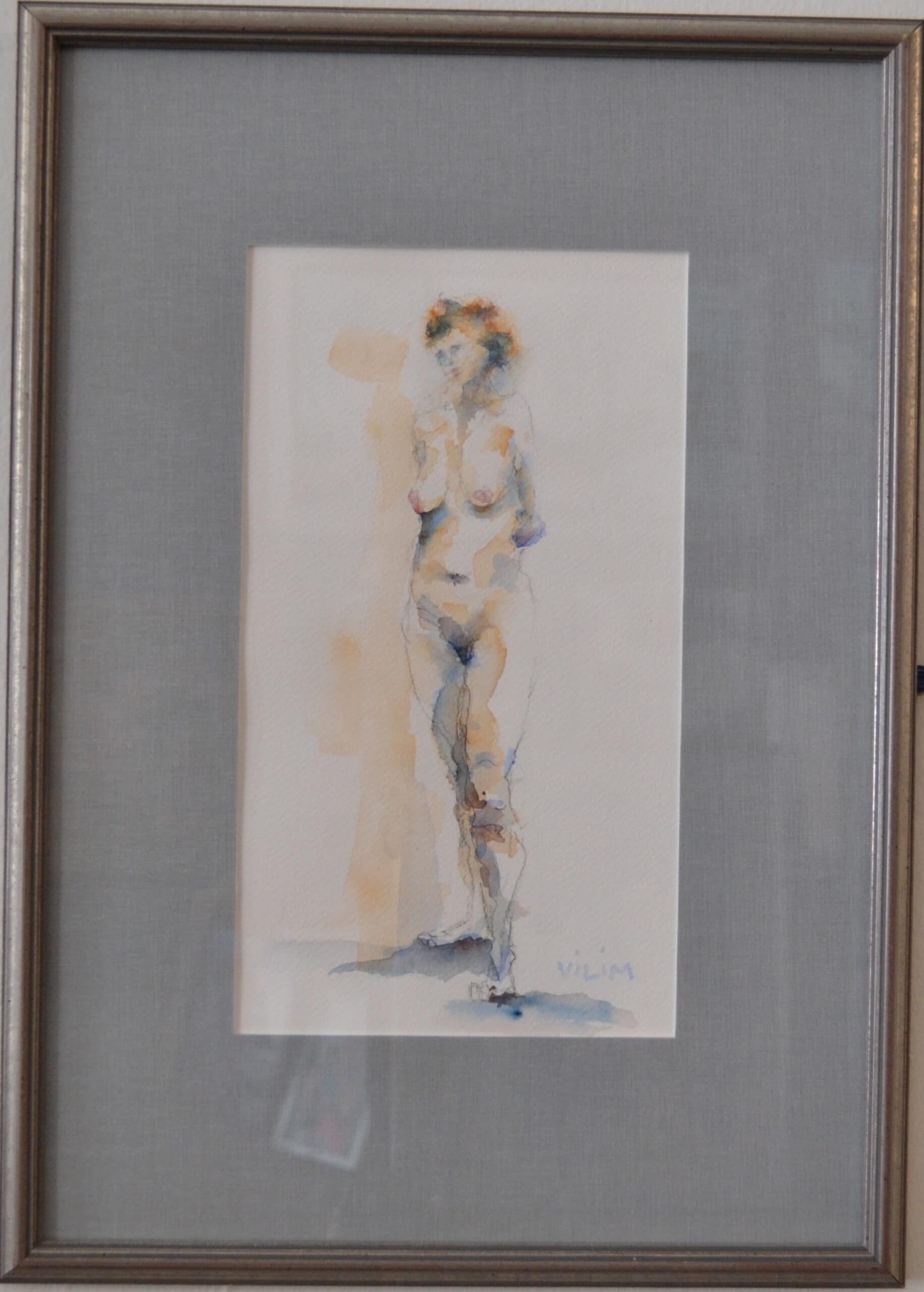 Standing Nude<br>12×16