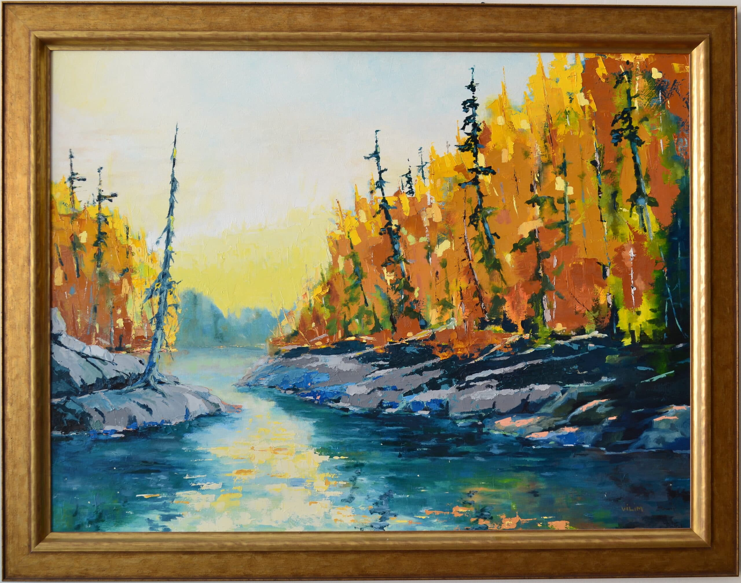 Boundary Waters<br>48×36