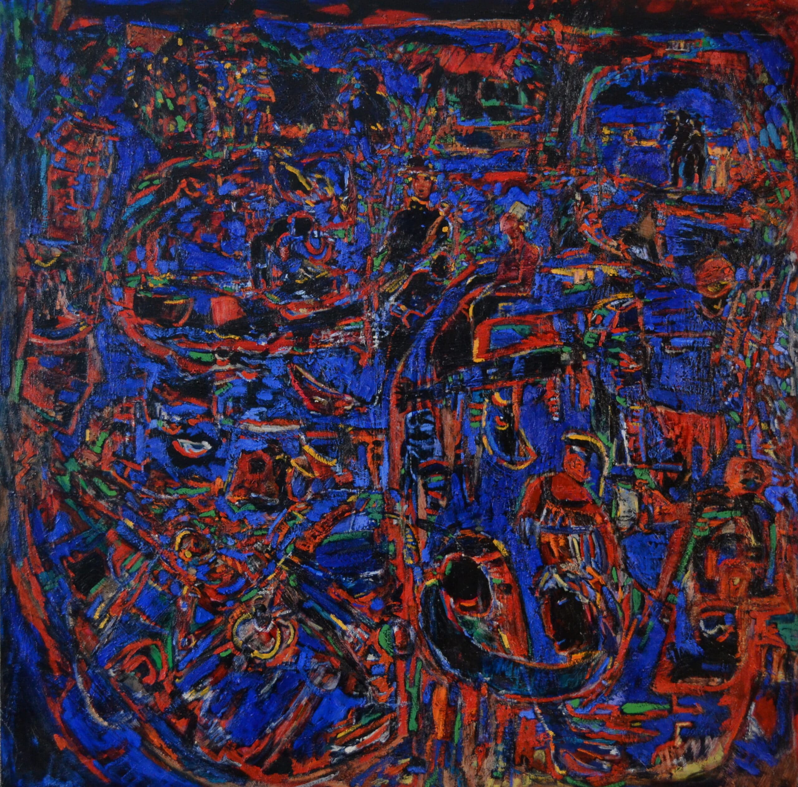 Blue Wake<br>48×48