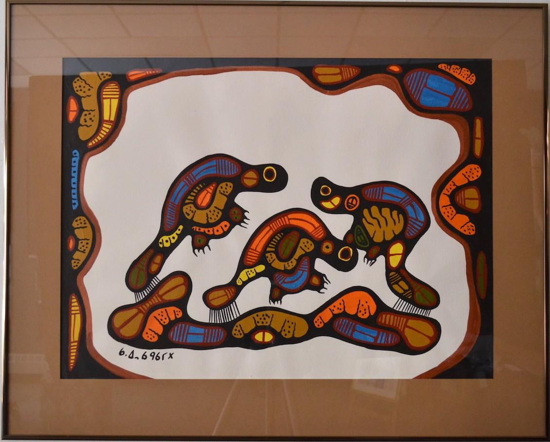 Untitled(3 Beavers)<br>30×24